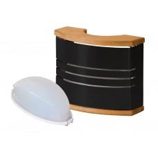 Harvia pirts lampa - melna